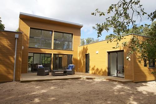 Arcadial constructeur for Modele maison ossature bois