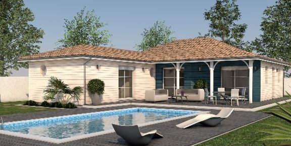 clairlande bois constructeur maisons individuelles artigues pr s bordeaux gironde. Black Bedroom Furniture Sets. Home Design Ideas