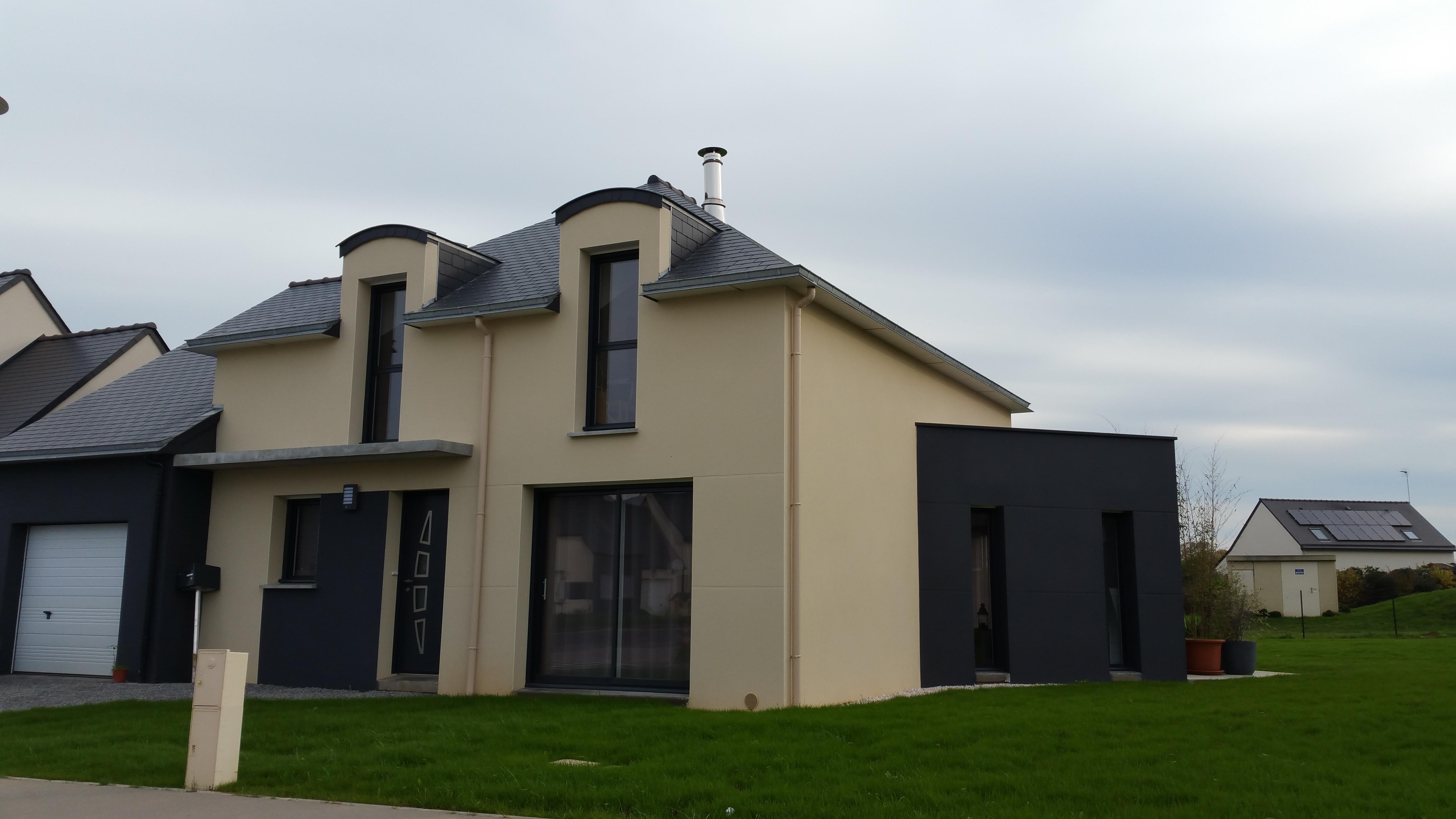 Dbl constructions constructeur maisons individuelles for Constructeur maison contemporaine rennes
