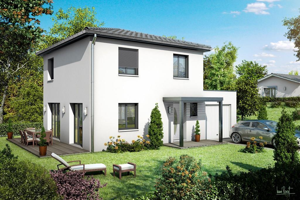 la maison des compagnons, constructeur - choisirmonconstructeur.com - Modele De Maison En L