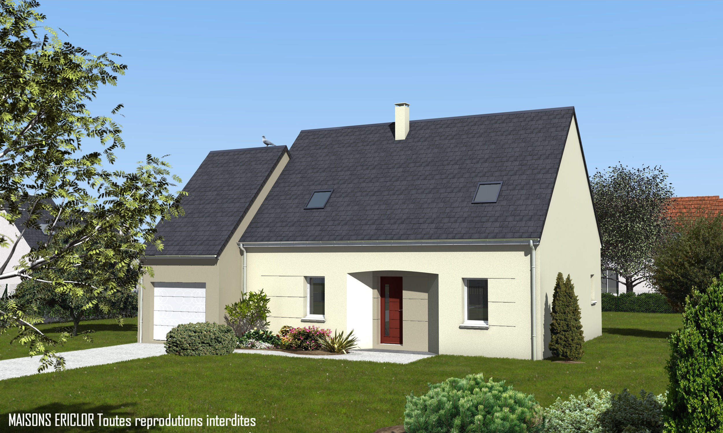 Logis de vend e constructeur maisons individuelles le for Constructeur maison moderne vendee