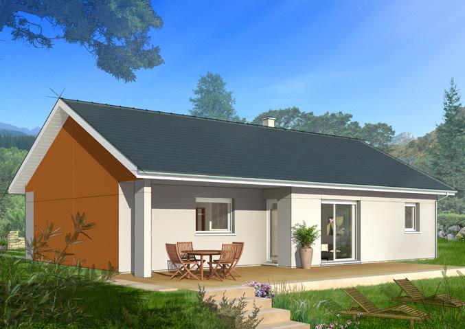 maison castor constructeur maisons individuelles chirolles is re. Black Bedroom Furniture Sets. Home Design Ideas