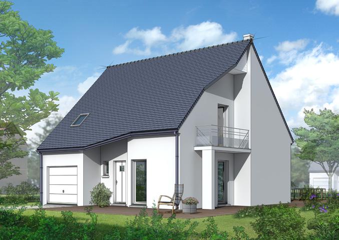 Maisons à étage Maisons primo accédant Maisons avec combles Maisons régionales Maison Castor