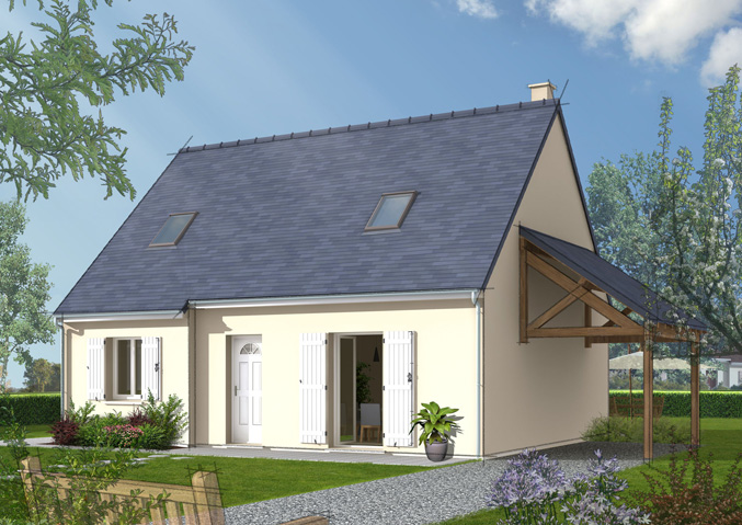 Maison Castor, constructeur maisons individuelles à Metz Moselle ...