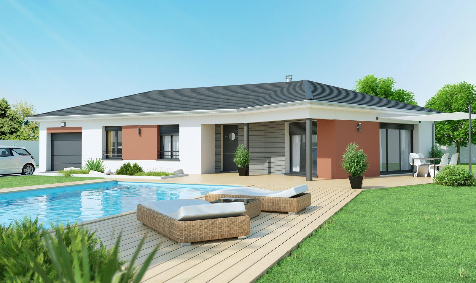 Maison collonges constructeur for Construction maison modele