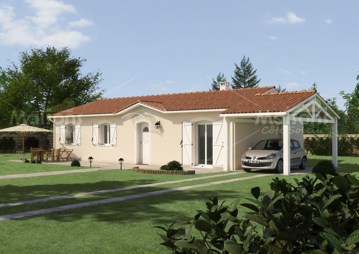 Maison c t soleil constructeur maisons individuelles for Constructeur de maison individuelle cote d armor