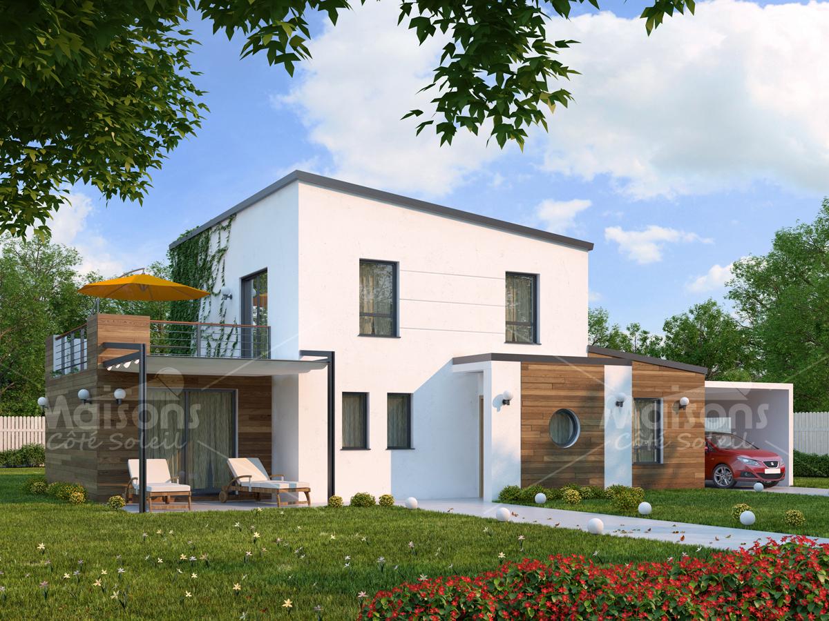 Maisons à étage maisons écologiques maisons contemporaines maisons primo accédant maisons à toit plat plan maison