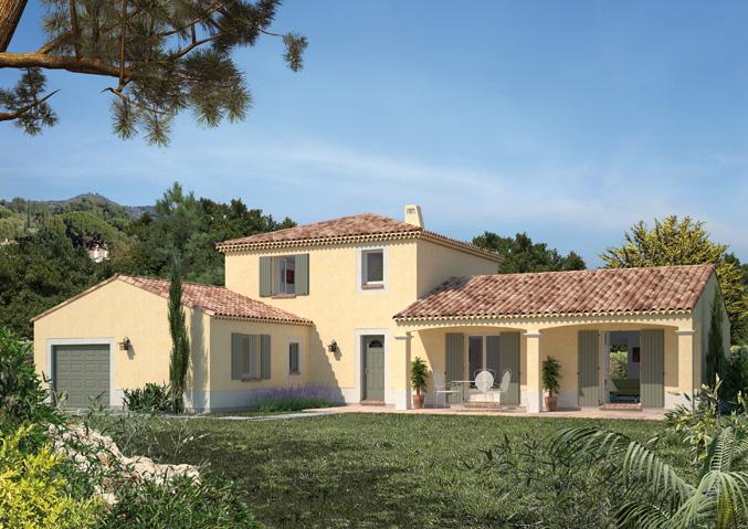 Maisons à étage Maisons primo accédant Maisons méditerranéennes Maison Familiale