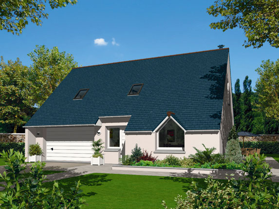 Maisons de plain pied Maisons écologiques Maisons primo accédant Maisons avec combles Maisons régionales Maison Familiale