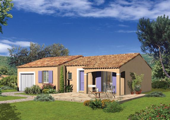 Maisons de plain pied Maisons primo accédant Maisons méditerranéennes Maison Familiale