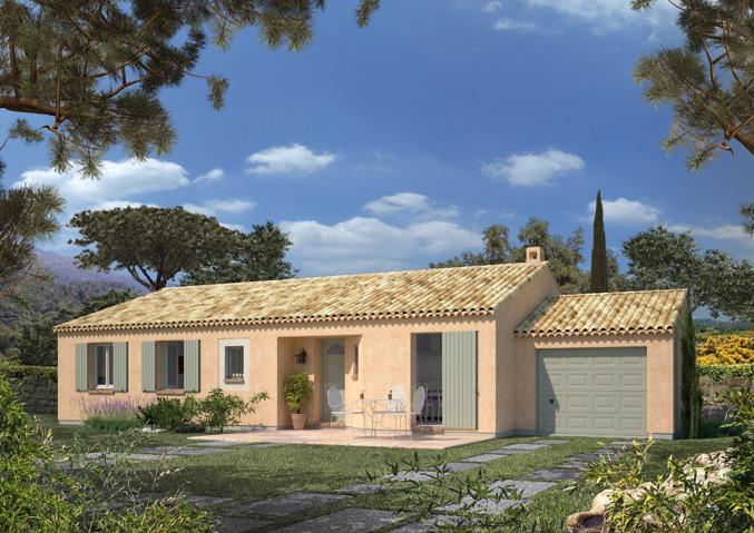 Maisons de plain pied Maisons écologiques Maisons primo accédant Maisons méditerranéennes Maison Familiale
