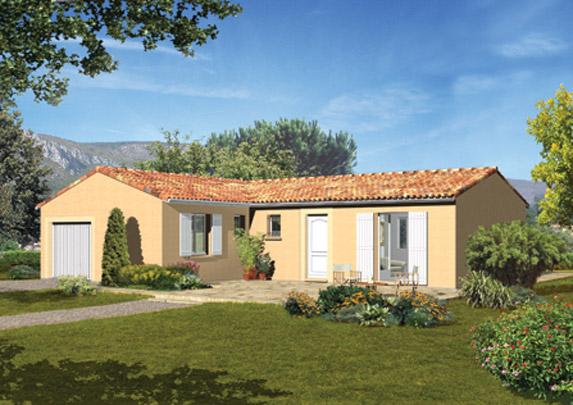 Maisons de plain pied Maisons primo accédant Maisons méditerranéennes Maisons régionales Maison Familiale