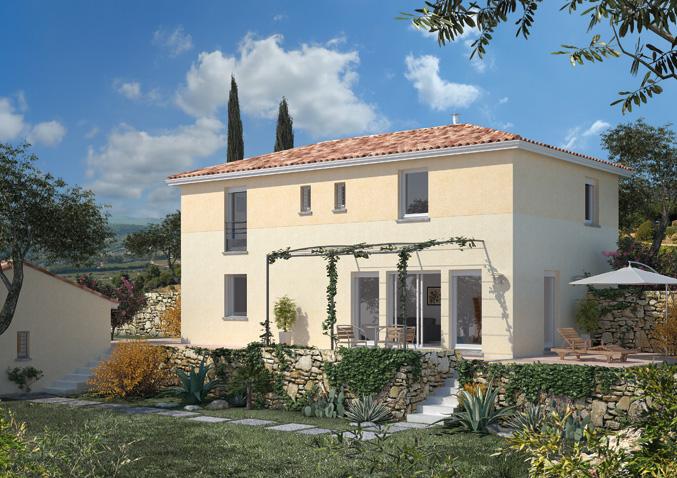Maisons à étage Maisons méditerranéennes Maisons régionales Maison Familiale