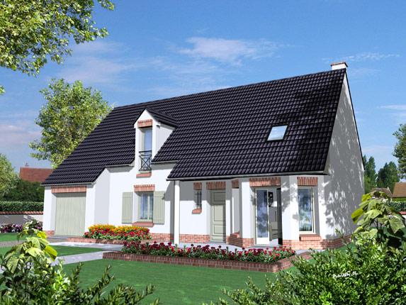 Maison familiale constructeur maisons individuelles for Constructeur maison contemporaine picardie