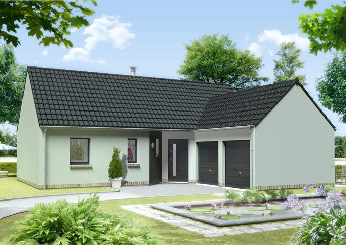 Maison familiale constructeur maisons individuelles for Modele de maison plain pied en l