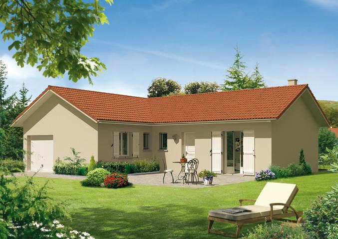 Maison familiale constructeur - Modele de maison plain pied ...
