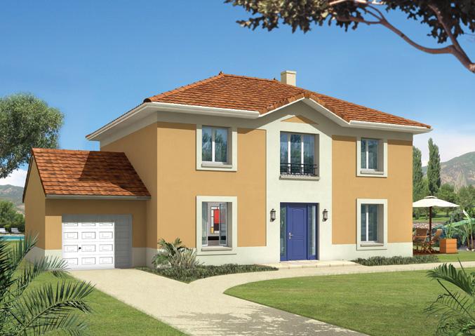 maison familiale constructeur maisons individuelles d cines charpieu rh ne. Black Bedroom Furniture Sets. Home Design Ideas
