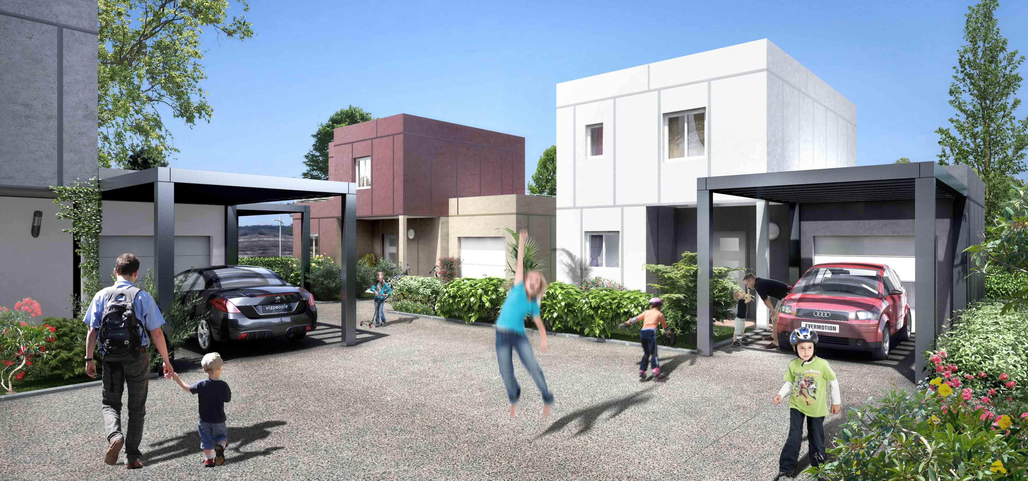 Maison fanfan constructeur for Maison moderne 74000