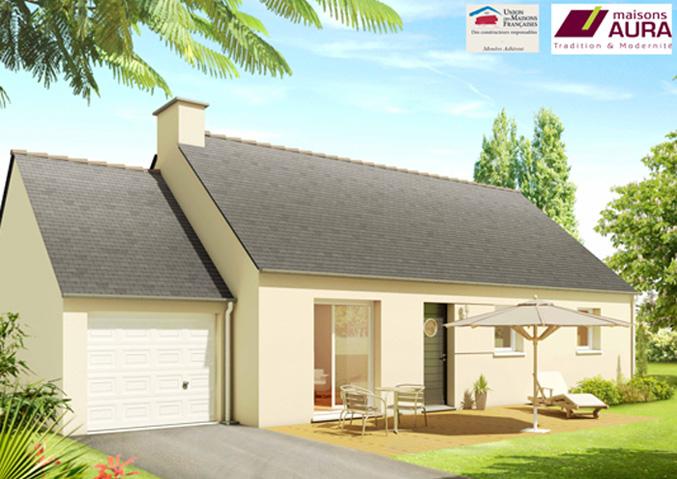 Maisons de plain pied Maisons primo accédant Maisons régionales Maisons Aura