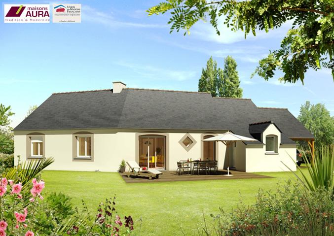 Maisons de plain pied Maisons avec combles Maisons régionales Maisons Aura