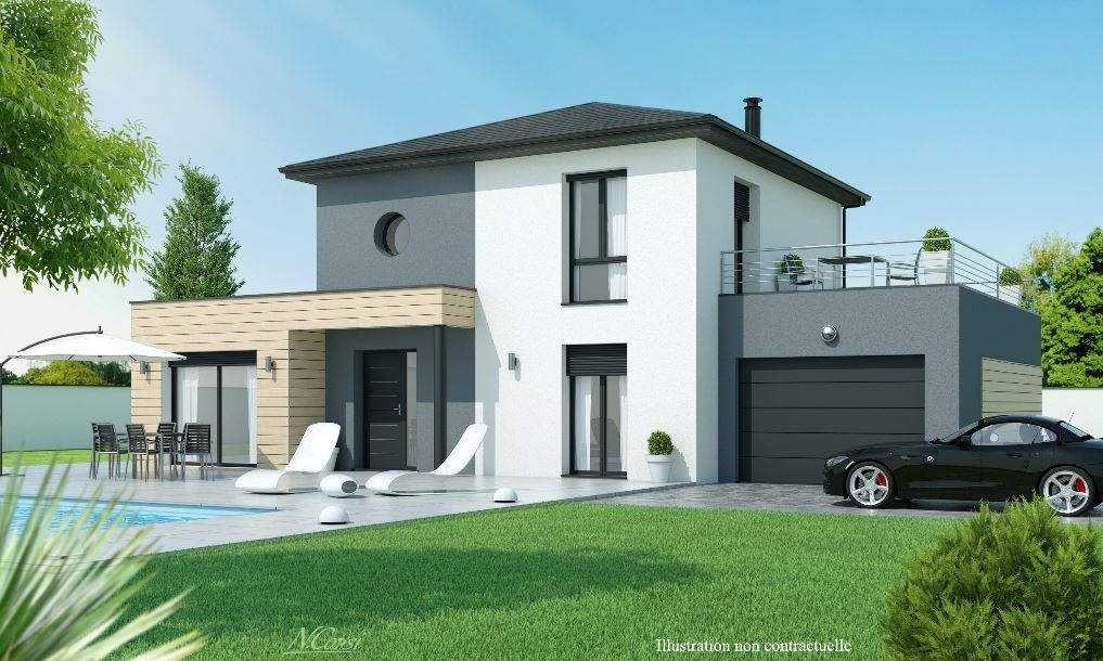 Maisons axial constructeur for Plans maisons contemporaines