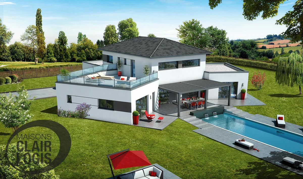 Maisons clair logis nimes segu maison for Constructeur de maison nimes