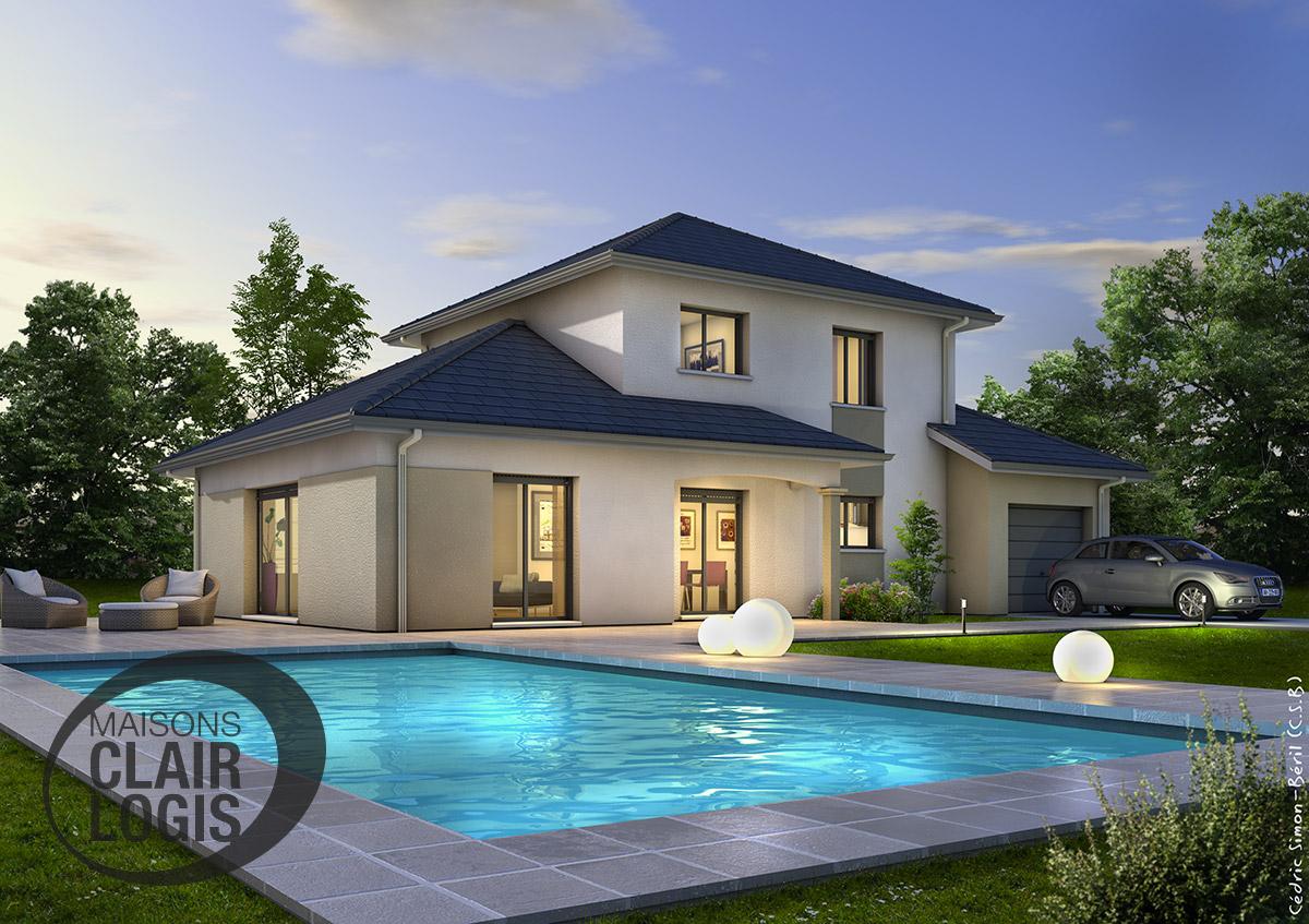 maison architecte a vendre 974