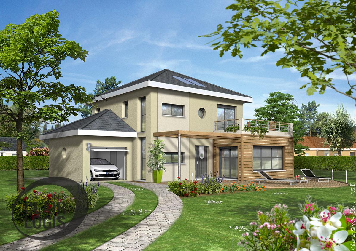 Maisons clair logis constructeur for Maison moderne haiti