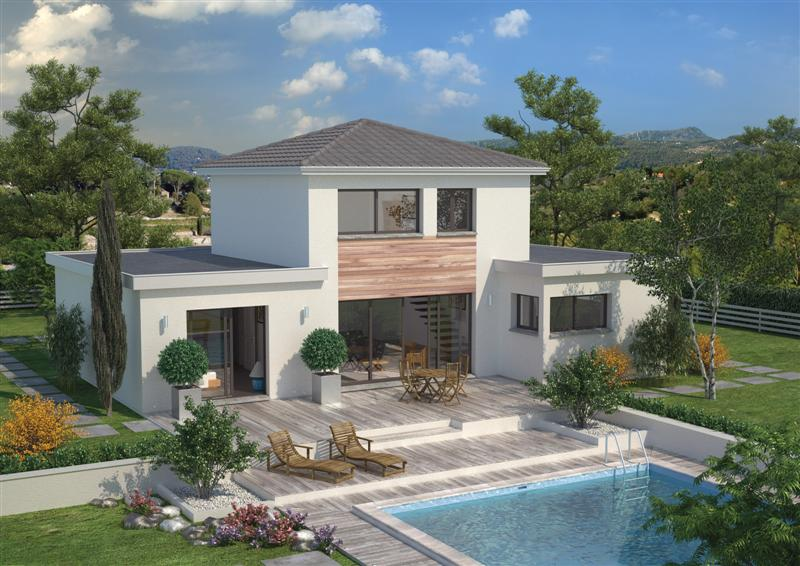 Maisons c te atlantique constructeur for Villa maison plans photos