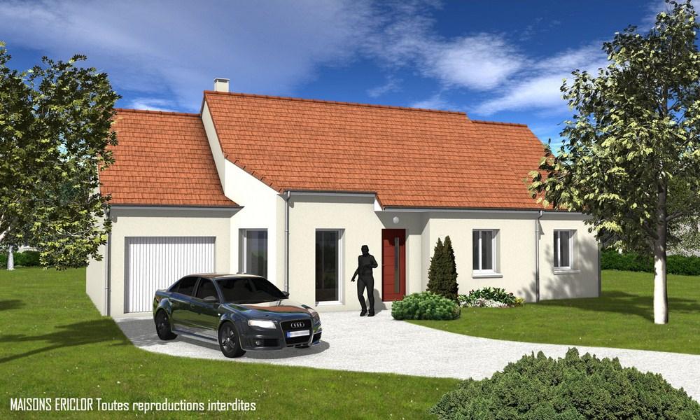 Maisons ericlor constructeur for Constructeur de maison 70