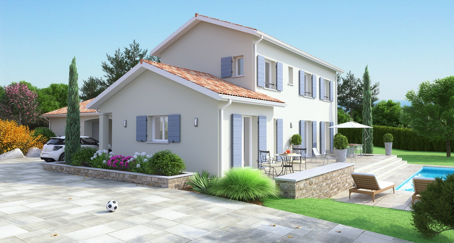Maisons ideales constructeur for Construction maison modele