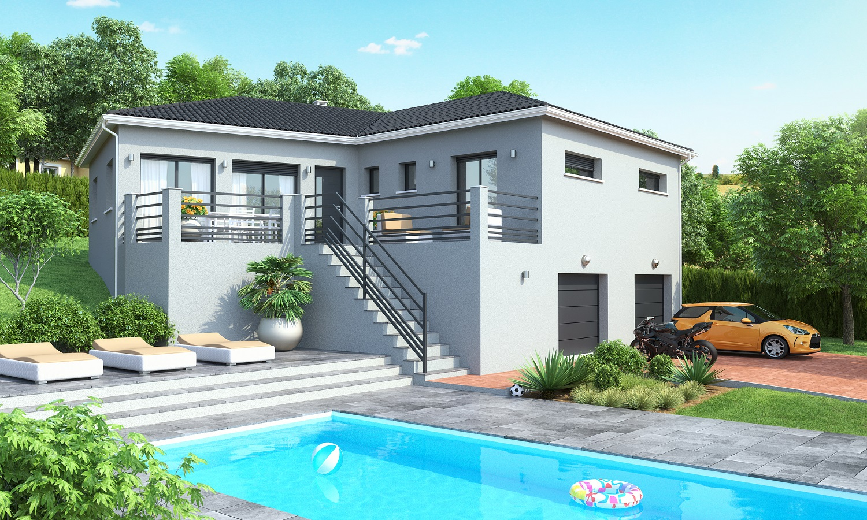 maisons ideales constructeur. Black Bedroom Furniture Sets. Home Design Ideas