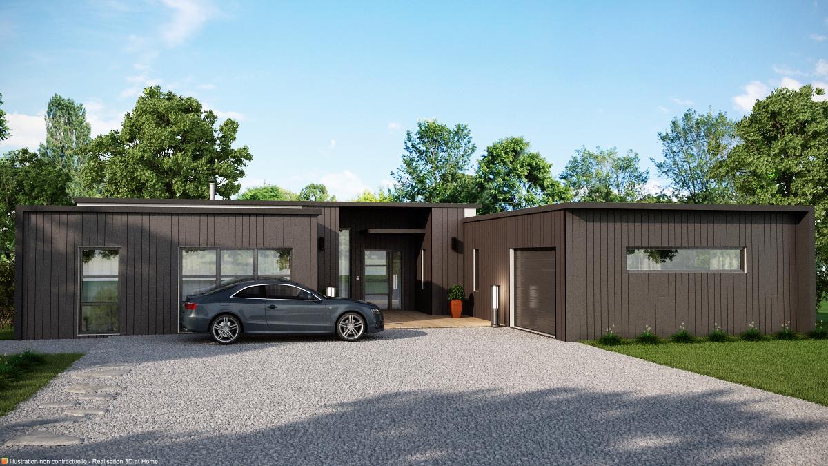 Plan Maison Plain Pied Toulouse : Maisons ideoz constructeur choisirmonconstructeur