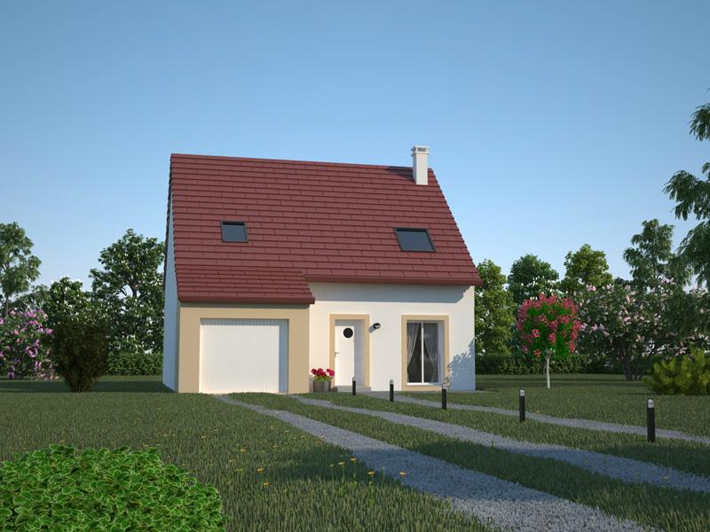 Maisons kerb a constructeur langueux c tes d 39 armor for Constructeur de maison individuelle cote d armor