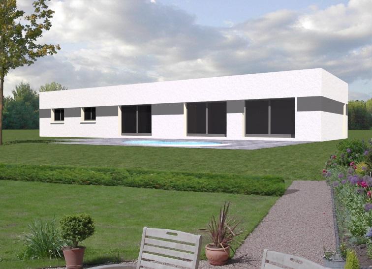 Maisons mag constructeur for Modele de maison toit plat
