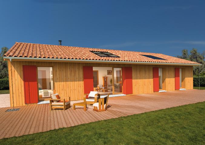 Maisons bois Maisons de plain pied Maisons contemporaines Maisons primo accédant Maisons avec combles Maisons Phénix