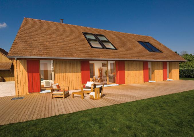 Best maison bois cherbourg gallery for Top constructeur maison