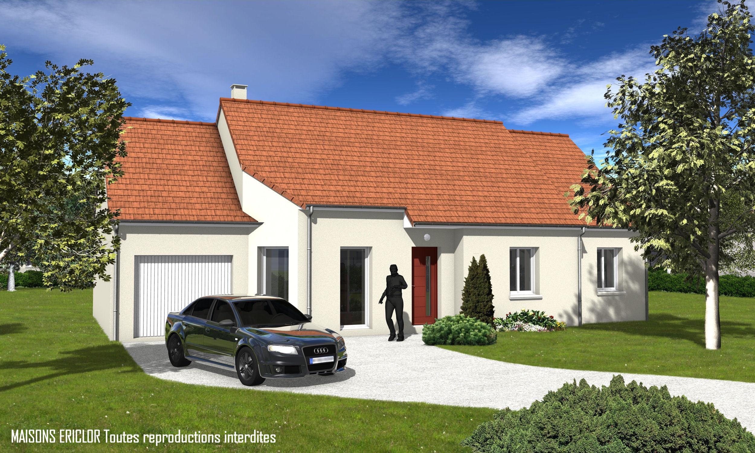 Maisons de plain pied maisons primo accdant maisons avec for Modele maison gironde