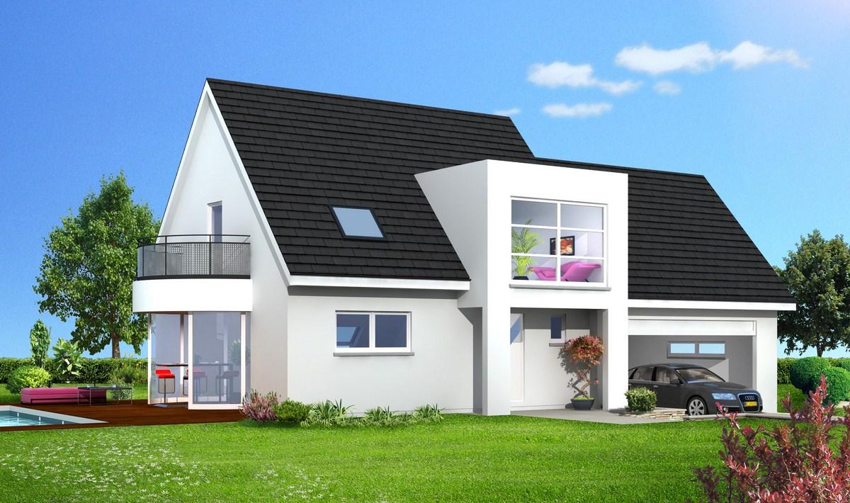 Constructeur maison contemporaine strasbourg for Constructeur maisons contemporaines