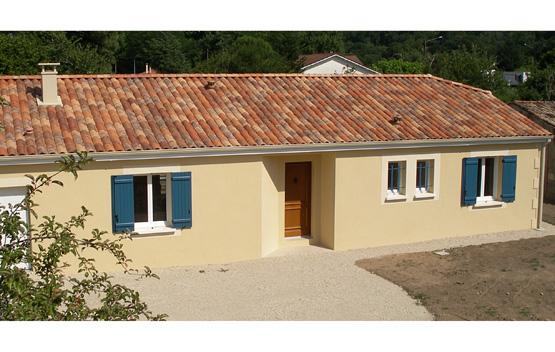 Rouqui constructions constructeur for Constructeur maison individuelle 24000