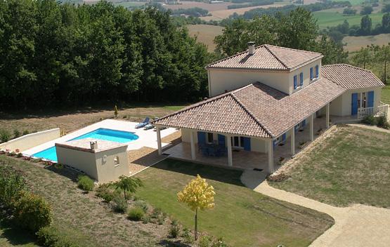 Maisons à étage Maisons méditerranéennes Maisons régionales Rouquié Constructions