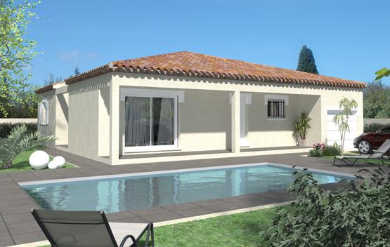 Maisons de plain pied Maisons écologiques Maisons primo accédant Maisons méditerranéennes Maisons régionales Toit d'Azur