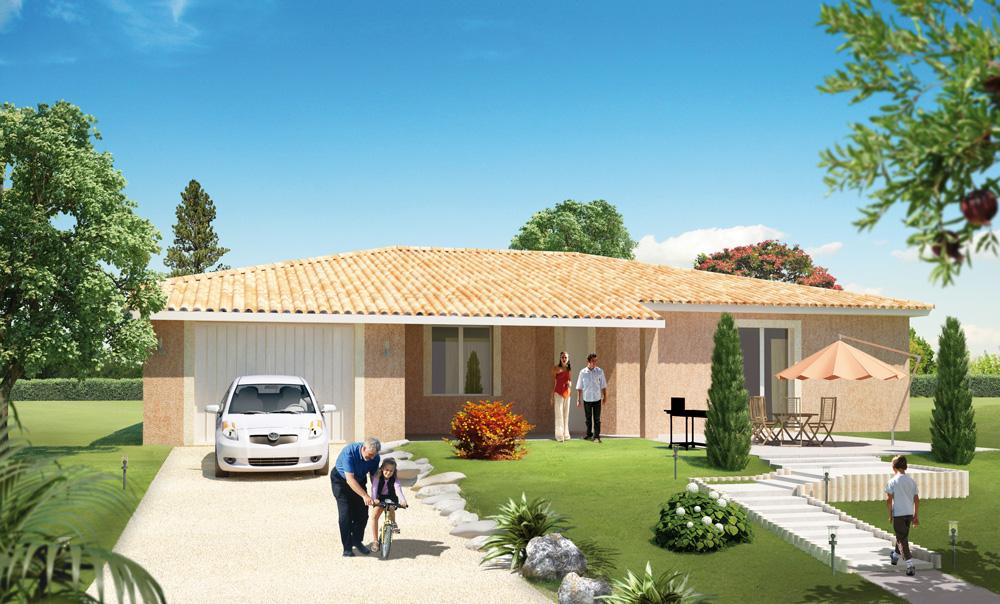 Super Aménagement Extérieur Maison Plain Pied - Inspiration du blog TH15