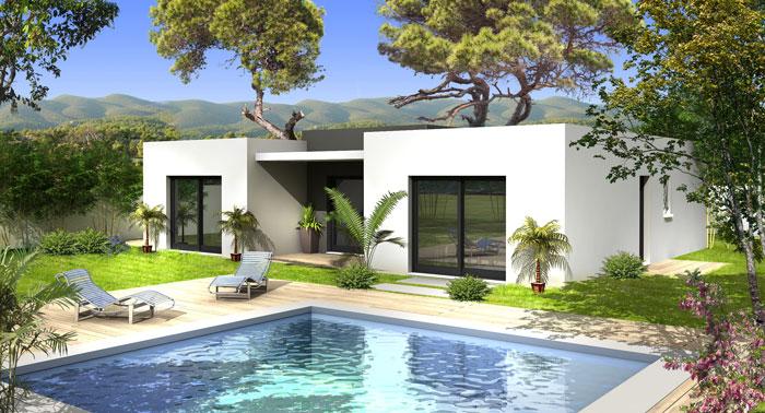 Villas prisme constructeur for Villa constructeur