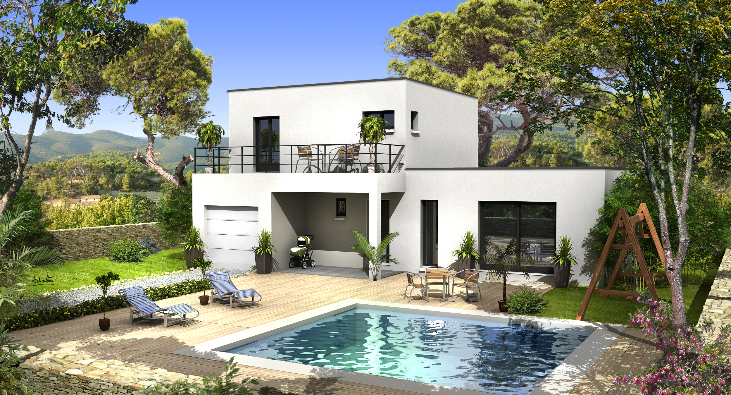 Villas prisme constructeur maisons individuelles la for Site construction maison