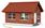 logo maison brique ou parpaing