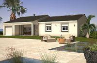 Modèle de maison Maisons de plain pied AZUR ET CONSTRUCTIONS