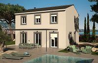 Modèle de maison Maisons méditerranéennes AZUR ET CONSTRUCTIONS