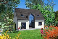 Modèle de maison Maisons avec combles LDT