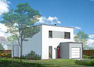 Modèle de maison Maisons à toit plat Maison Castor